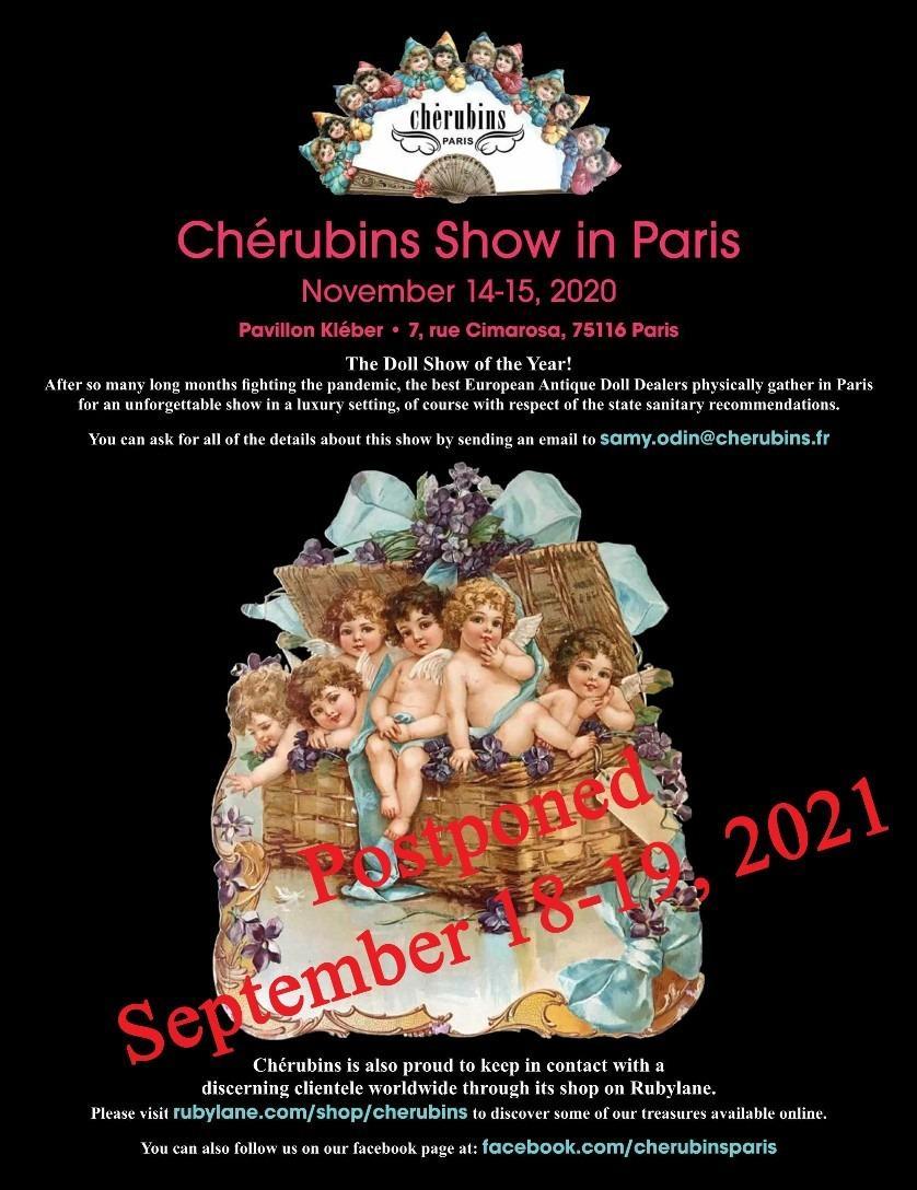Chérubins show 2020 postponement